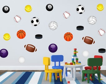 Sports Wall Art sports theme nursery | etsy