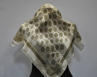 Vintage SILK scarf ....(685)