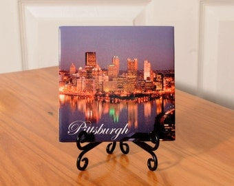 Pittsburgh tile with stand