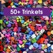 50+ Trinkets,  I Spy Trinkets, I Spy Toys, Small Toys, Little Toys, Bulk Toys, Craft Supplies, Kawaii