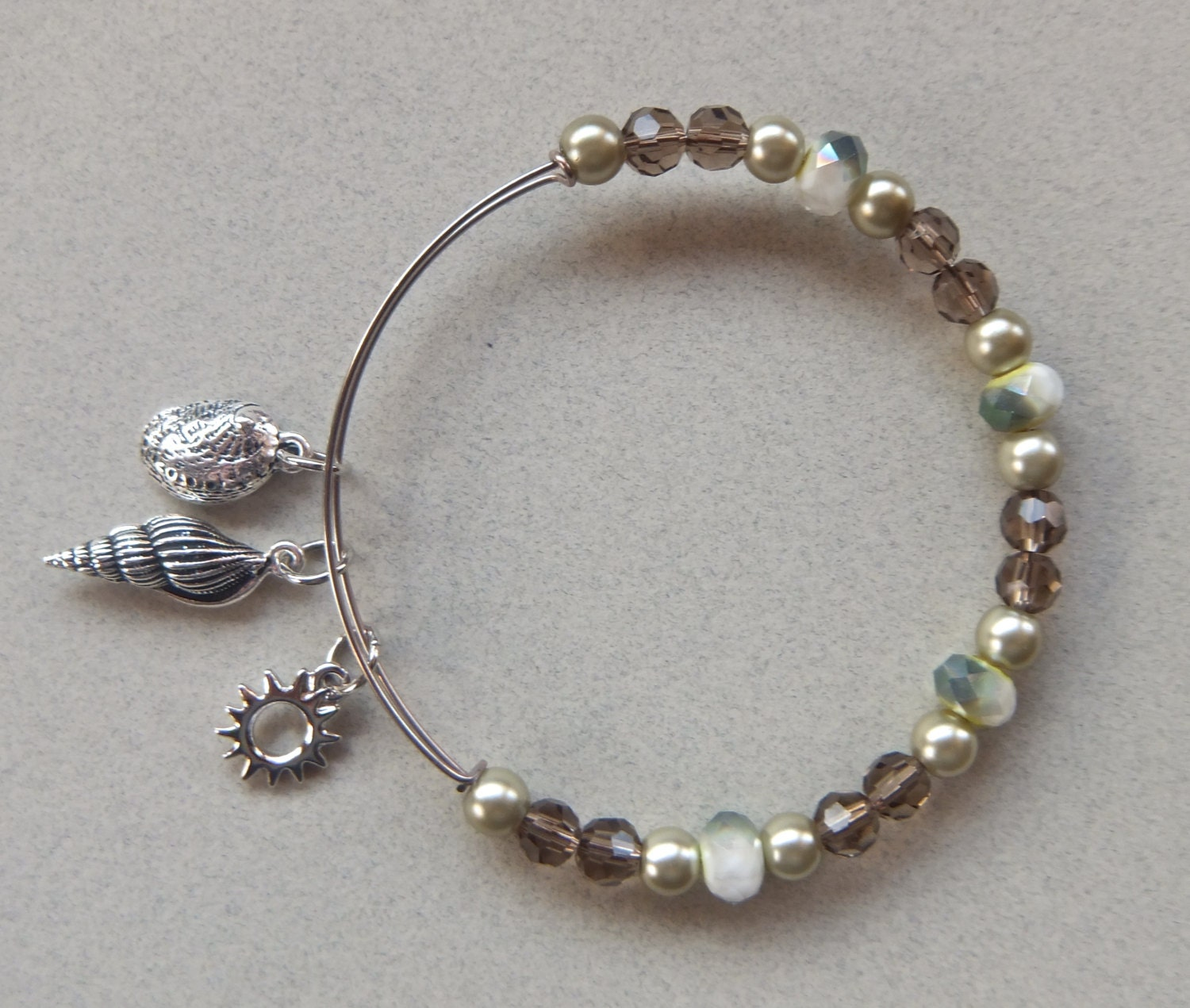 expandable alex and ani inspired bracelet by nonisfancies