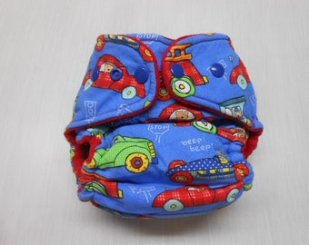 Fitted Cloth Diaper includes soaker