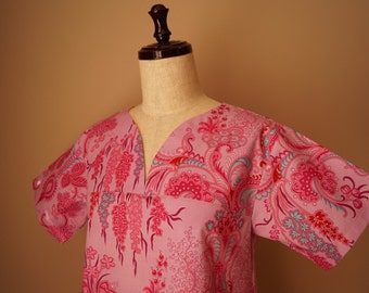 Jennifer Paganelli Crazy Love JoAnn pink Scrub top size small (2-4)