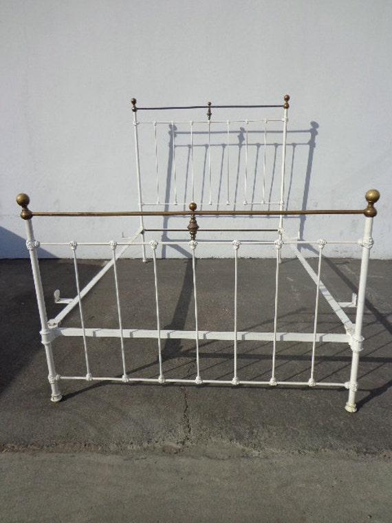 Antique Bed Rustic Shabby Chic Primitive French Provincial