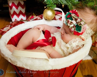Ivory Petti Romper/Holiday Petti Romper/Christmas Petti Romper/Petti Romper Set/Infant Petti Romper/Baby Petti Romper/Girls Petti Romper