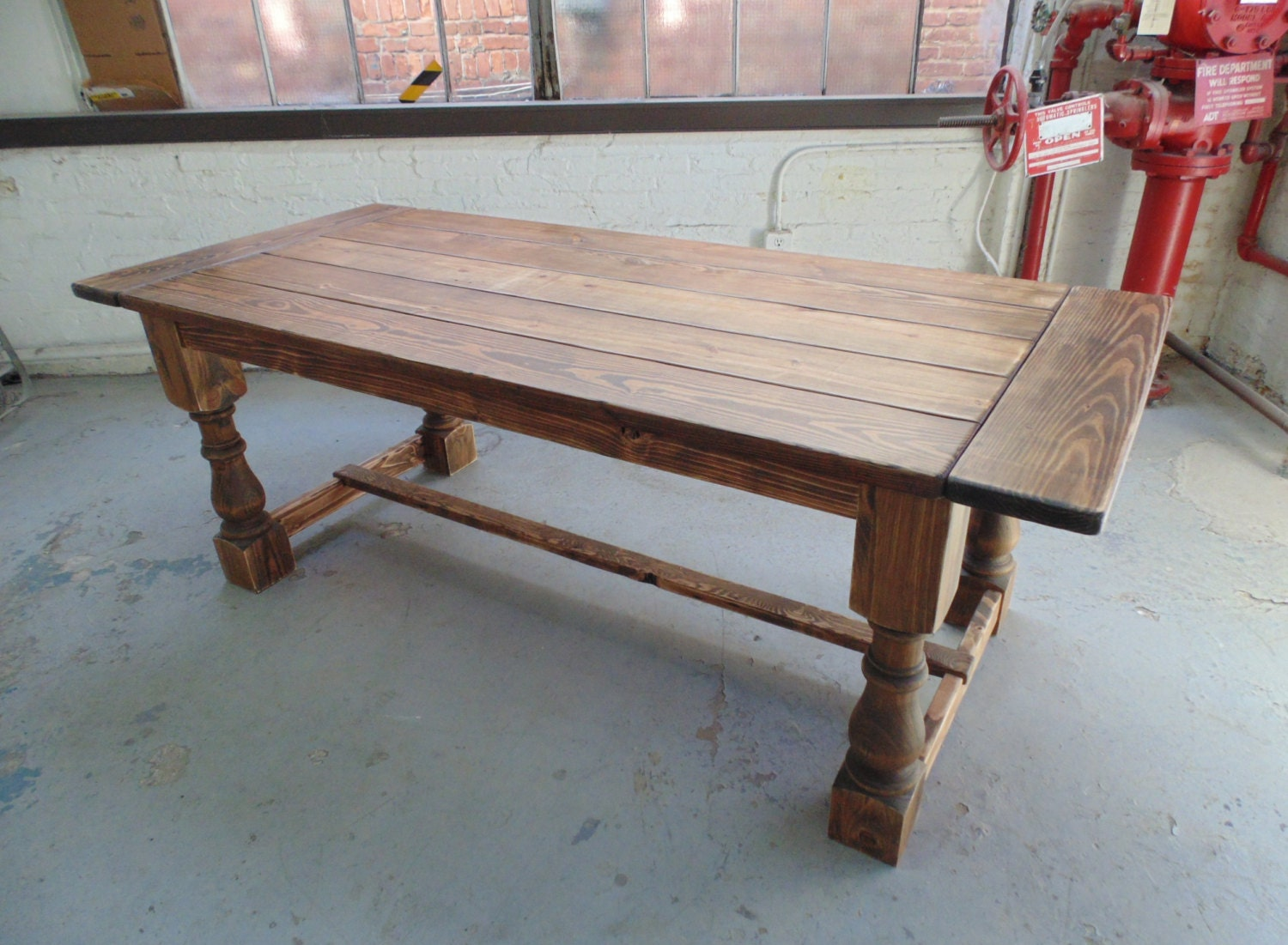 Talbot Dining Table Farmhouse Reclaimed Wood Custom