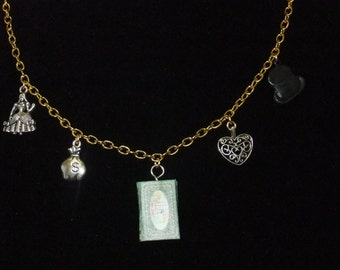 Gone With the Wind Book Necklace - Great Gift for Book Lovers!