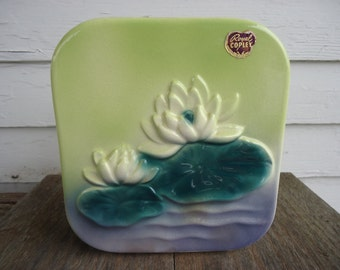 Royal Copley Water Lily Planter