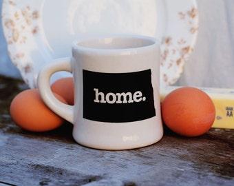 North Dakota home. Ceramic Coffee Mug