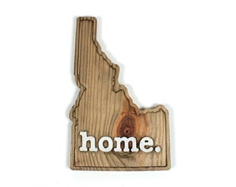 Idaho home. Rough Cut Mill Wood Wall Hanging