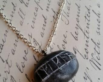 Hobbit Kilis Rune Stone Necklace