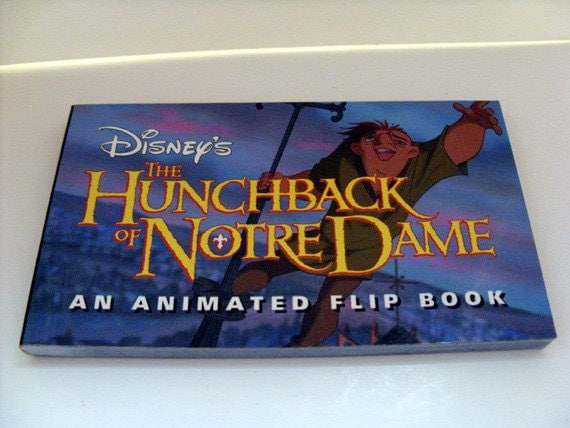 Disney Hunchback Of Notre Dame Animated Flip Book First