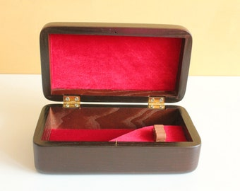 Wooden Gift Box for Tobacco smoking pipe, Case for smoking pipe, organizer for smokers, accessories for tobacco pipe