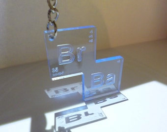 Breaking Bad Keyring 'Sky Blue'