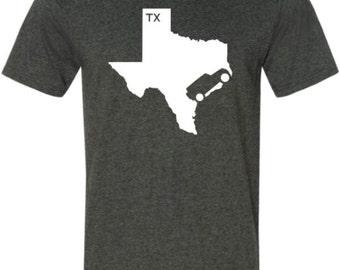 Jeep Wrangler Shirt Texas
