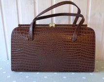 purses celine - Popular items for faux leather luggage on Etsy
