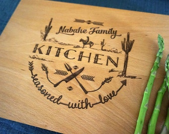 Eat well travel often custom cutting board hostess gift for Hostess gifts that travel well
