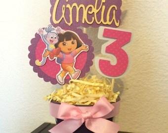 Dora INSPIRED Centerpiece STICKS ONLY