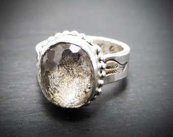 Dane Ring Memorial Pet Ash Ring EXAMPLE ONLY