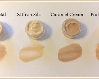 Liquid Mineral Foundation Vegan Makeup Samples and Full Size