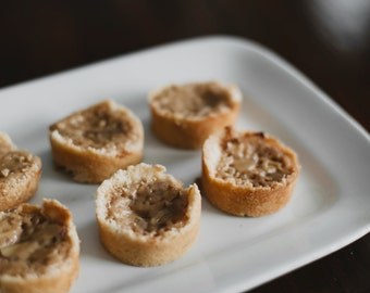 One Dozen Homemade Swedish Toscas (Almond Tarts)