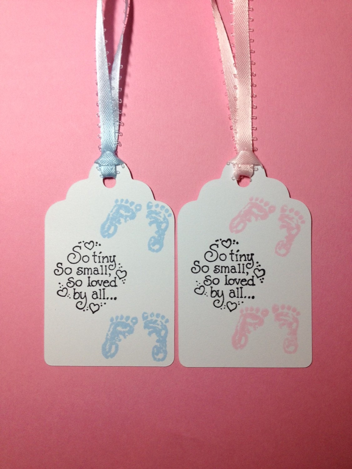 Twin baby shower tags twin baby shower gift tags twin favor for Baby shower gift tags