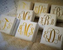 Bridesmaid Box, Will You Be My Bridesmaid Box,Bridesmaid Gift, Monogram Bridesmaid Gift, Maid of Honor Box, Rustic Wedding Gift,