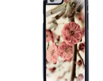 iPhone 5 5s 6 6s 6+ 6s+ SE 7 7+ iPod 5 6 Phone Case, Plum Blossom Design, Flowers, Floral, Plus
