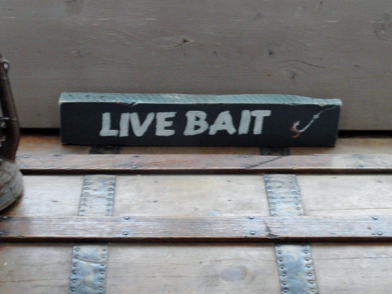 Fishing Cabin Decor Lake House Decor Live By Tonyastradingpost