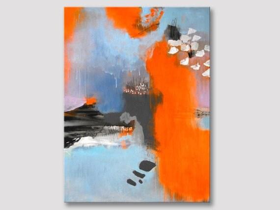 Original fine art abstrait moderne tableau art peinture for Peinture sur toile moderne