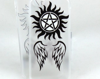 Supernatural inspired case for iPhone 5c - Angels and Demons
