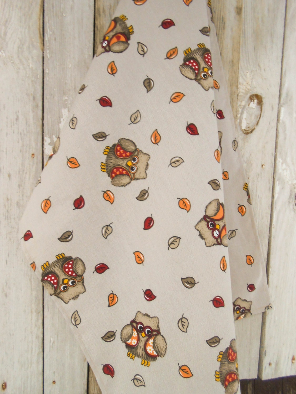 owl tea towel kitchen towel kitchen owl decor owl towel owl