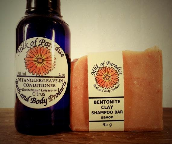 Hair Care Package Natural Hair Shampoo Bar By