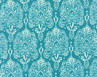 Half Yard Horizon - Earth in Ocean Blue - Cotton Quilt Fabric - designed by Kate Spain for Moda Fabrics - 27191-14 (W2298)
