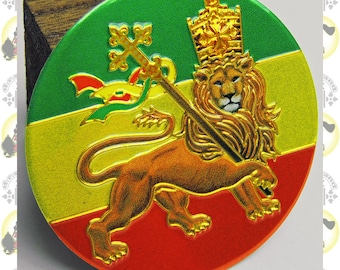 Metal Art Sticker - Lion Of Judah (small)