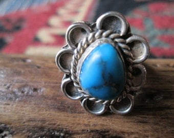 Native American Turquoise ring Size 6