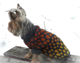jacket small dog sweater dog costume yorkie clothes pet clothes  yorkie sweater  dog dress large dog yorkie clothes dress for dog dog