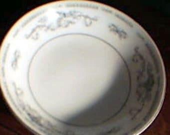 Fine Porcelain China DIANE Berry Bowls Set of 3