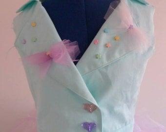 Sleeveless Top inspi Fairy kei