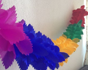 3 papel picado banners for party