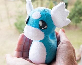 Pokemon Dratini Plush, Made to order