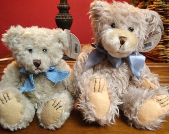 Extremely Cute Teddy Bears Dipped in Scented Wax - 6in