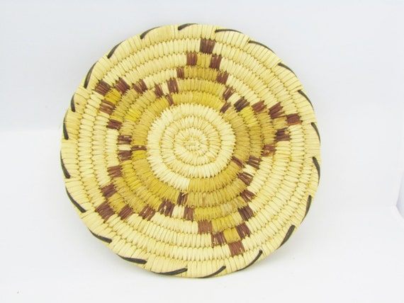 Basket Weaving O Que é : Traditional coil weave tohono o odam papago by