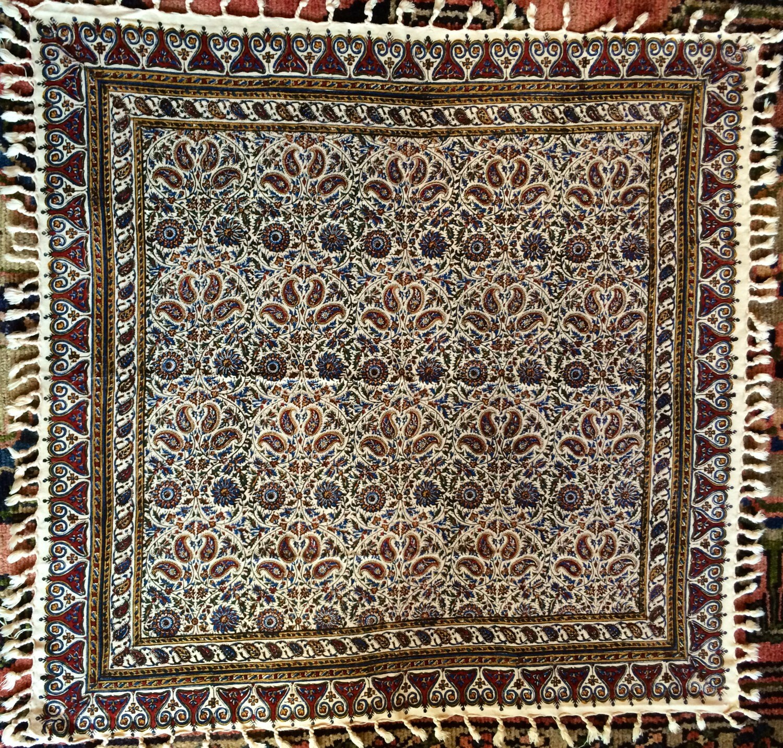 tenture murale de tapisserie persane art textile par abrishamshop. Black Bedroom Furniture Sets. Home Design Ideas