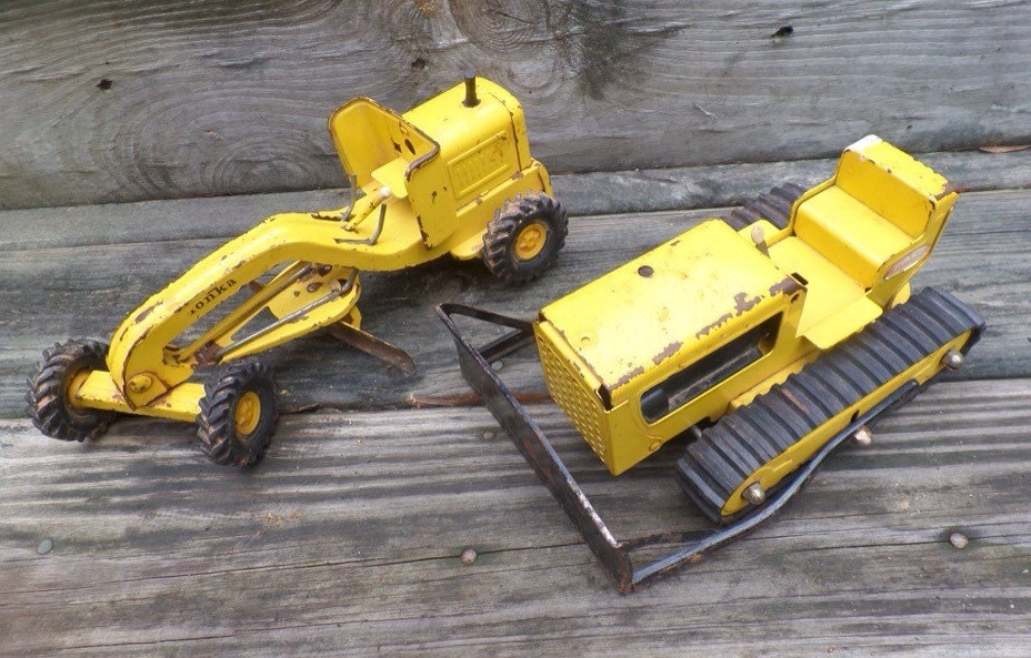 Tonka Construction Toys For Boys : Vintage tonka toys s construction by theflyinghostess
