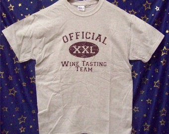 Official Wine Tasting Team T-shirts