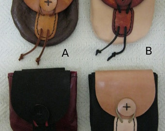 Leather Possibles Bag - FREE SHIPPING