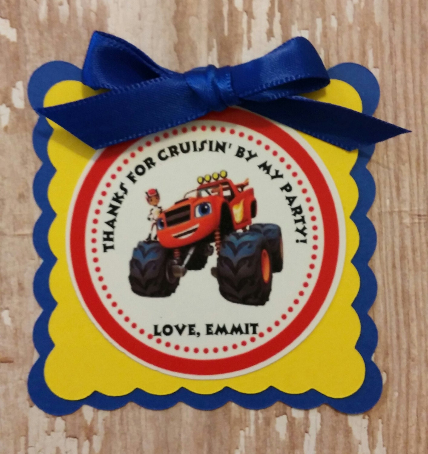 Blaze And The Monster Machines Birthday Tags Blaze Invitations