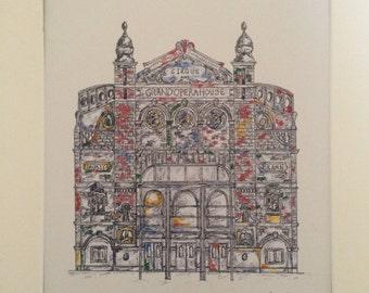 The Grand Opera House, Belfast Print