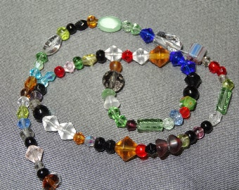 Choose A Strand of Mixed Glass Beads ~ 2 different strands!